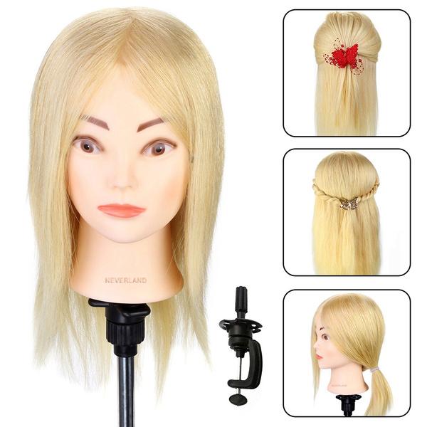 Head, cosmetologymannequinhead, doll, longhairtraininghead