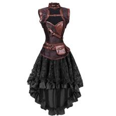 gothiccorsetdres, sexycorsetdres, highandlowskirt, Corset