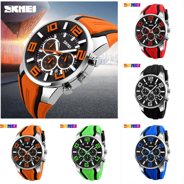 Chronograph, multifunctionalwatch, cool watches, Waterproof Watch