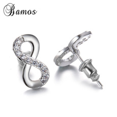 Cubic Zirconia, Sterling, Fashion, 925 sterling silver