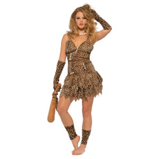 prehistoric, Halloween, Costume, cavewoman