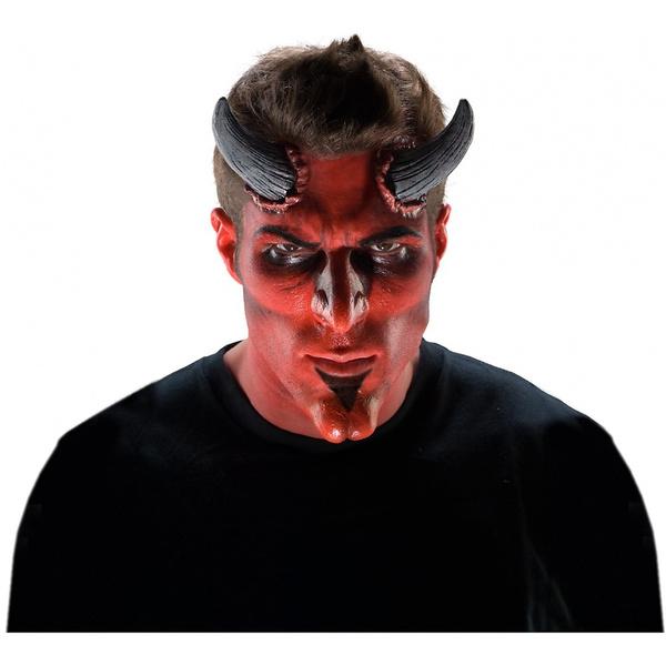 generique Demon Horns Latex Appliance Adult Scary Halloween Devil Prosthetic Kit Make-up