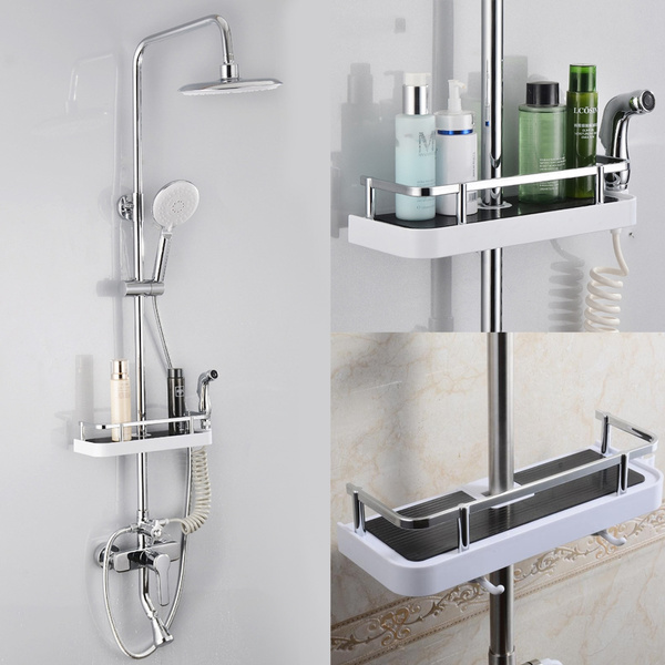 Shower, Bathroom, bathroomrack, storagerail
