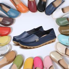 womensfalt, softloafer, Flats, leather