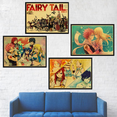 Wall Decor, Tail, vintageposter, fairytailposter