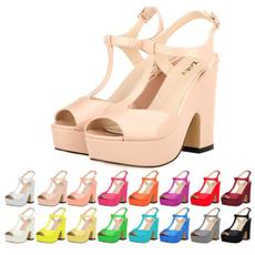 Sandals & Flip Flops, platformheel, partyweddingshoe, Womens Shoes