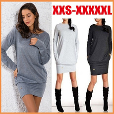 Plus Size, Hoodies, Sweaters, Long sleeved
