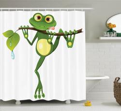 waterproofshowercurtain, Shower, Decor, Nature