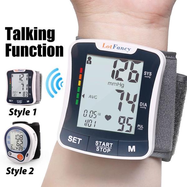 talkingbloodpressurefdaapproved, Machine, talkingbpmonitor, wristbloodpressurecuff
