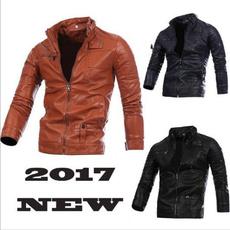 bikerjacket, Fashion, leather, button