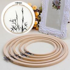 handmadecraftsdiy, crossstitch, Bamboo, embroideryhoop