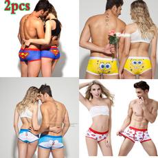 coupleunderwear, cute, Underwear, Fiber