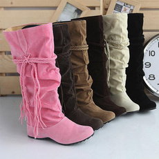 casual shoes, ankle boots, Plus Size, Winter