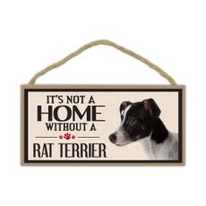 ratterrier, Дім і побут, Dogs, sign
