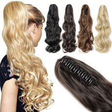 pony, Hair Extensions, syntheticponytail, clipinponytail