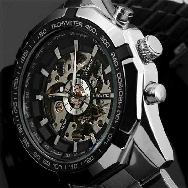 Chronograph, Skeleton, skeletonwatch, Watch
