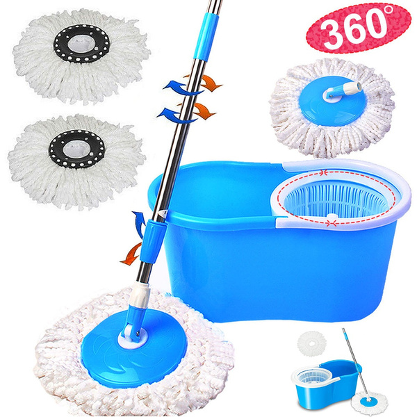 Cleaning Supplies, mopwithbucket, mop, rotating360