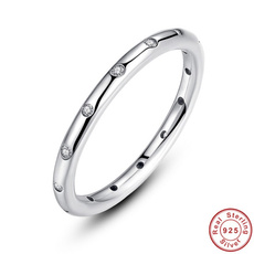 Sterling, Women Ring, Silver Ring, Engagement Ring