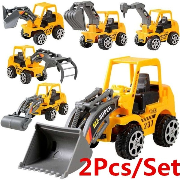 Mini, carmodel, toyexcavator, minitoycar