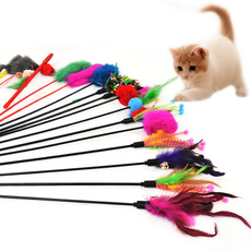 cattoy, Toy, wand, Bell