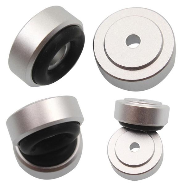 speakerisolationstand, aluminumisolationpadblack, isolationfeetstand, Aluminum
