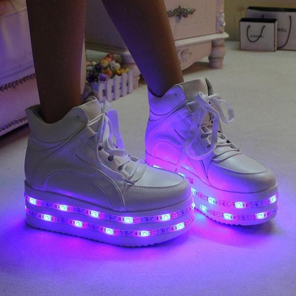 Fashion kawaii colorful led light up
