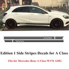 benz, Mercedes, matteglos, Stickers