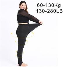 Leggings, Plus Size, high waist, Elastic