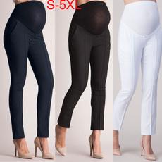 Plus Size, high waist, pants, slim