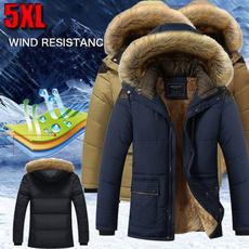 fur coat, Jacket, Men's Fashion, padded