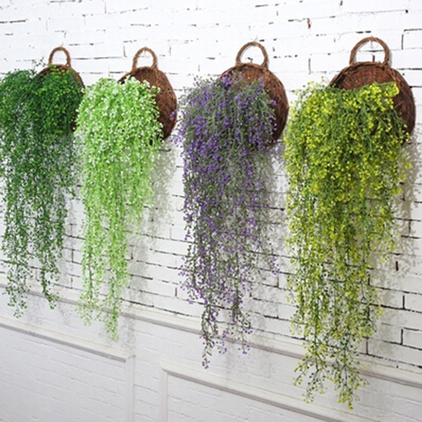 Plants, wallmounted, artificialplant, Home & Living