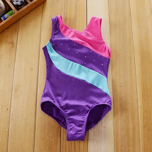Ballet, balletleotard, purple, Shiny