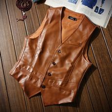 Vest, Moda, Waist Coat, leather