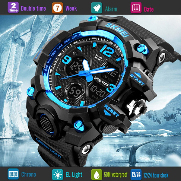 LED Watch, Army, led, Waterproof Watch