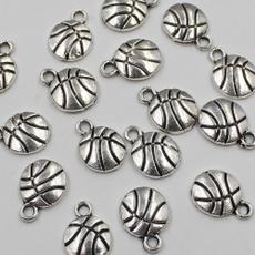 beadsjewellery, alloyspacerbeadssilver, Basketball, Jewelry