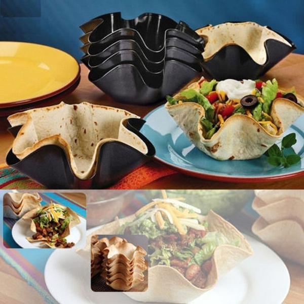 Kitchen & Dining, tacobowl, Baking, Tool