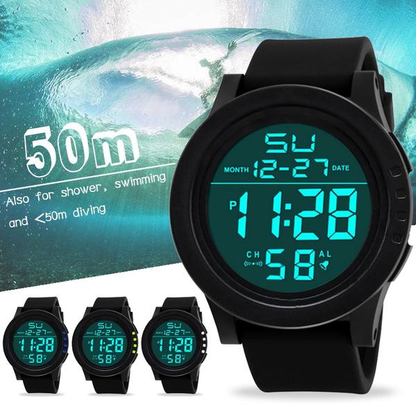 Waterproof Watch, militraywatch, wristwatch, Smart Watch