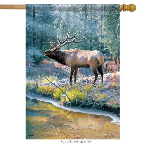 Winter, house, jimkasperflag, wildlifeflag