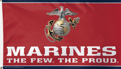 armedforce, 3x5flag, Military, marinesflag