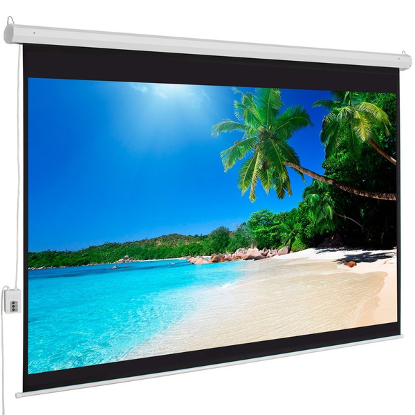 officeprojectionscreen, Remote, Electric, presentationproduct