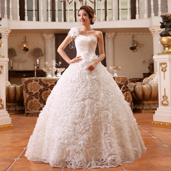 Sexy Wedding Dress, Bridal, white, Winter