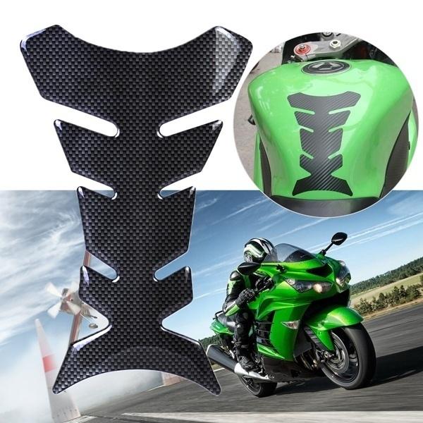 3D Universal Motorcycle Fuel Tank Pad Protector Sticker For Honda Yamaha Suzuki