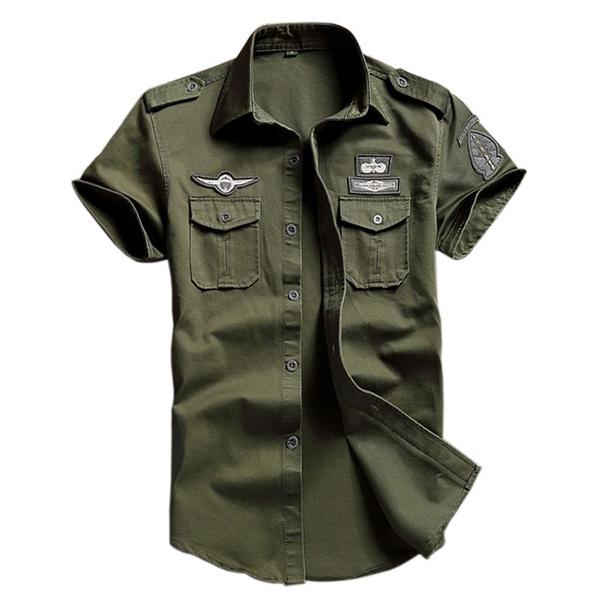 Plus Size, piloto, camuflagem, Women's Fashion