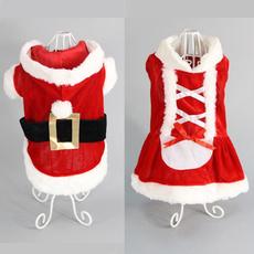 Dog Vest, dogsantaclausclothe, Christmas, Pets