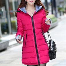 slimwinterjacket, Plus Size, Coat, womenwarmcoat