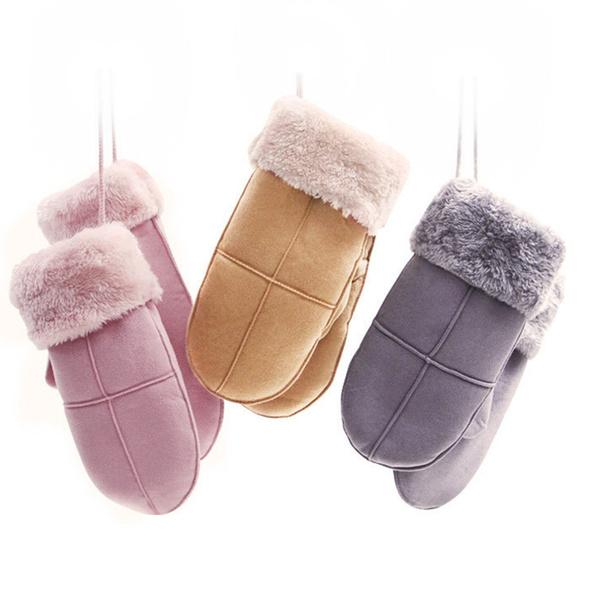 pink, cute, ladiesglove, Mittens