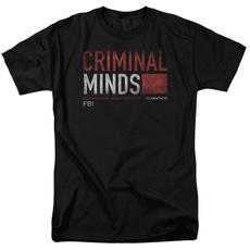 Mens T Shirt, Cotton T Shirt, criminalmindstshirt, short sleeves