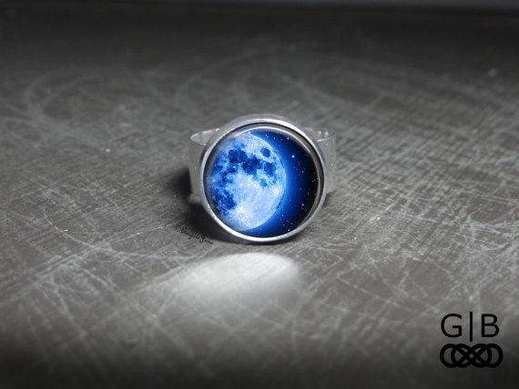Blues, glassartjewelry, Adjustable, Jewelry