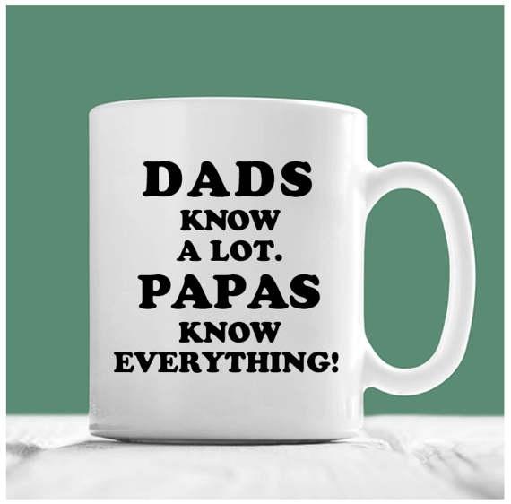 dad, drinkwaremug, Gifts, papa