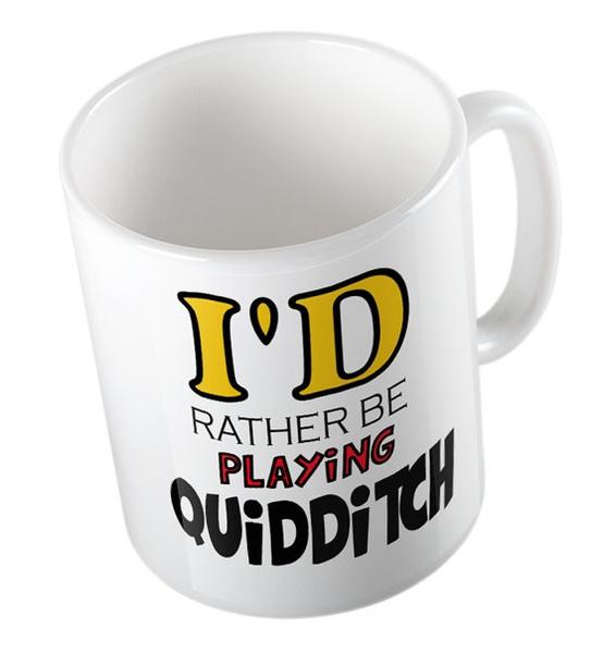 drinkwaremug, quidditch, Coffee Mug, muggiftidea